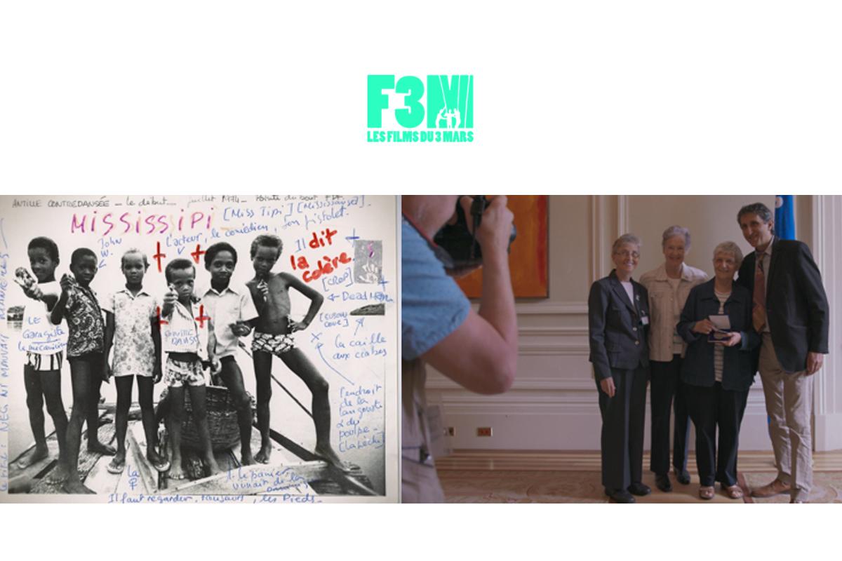 LES FILMS DU 3 MARS aux RIDM : « Jongué, carnet nomade » (Carlos Ferrand) et « Ainsi soient-elles » (Maxime Faure)
