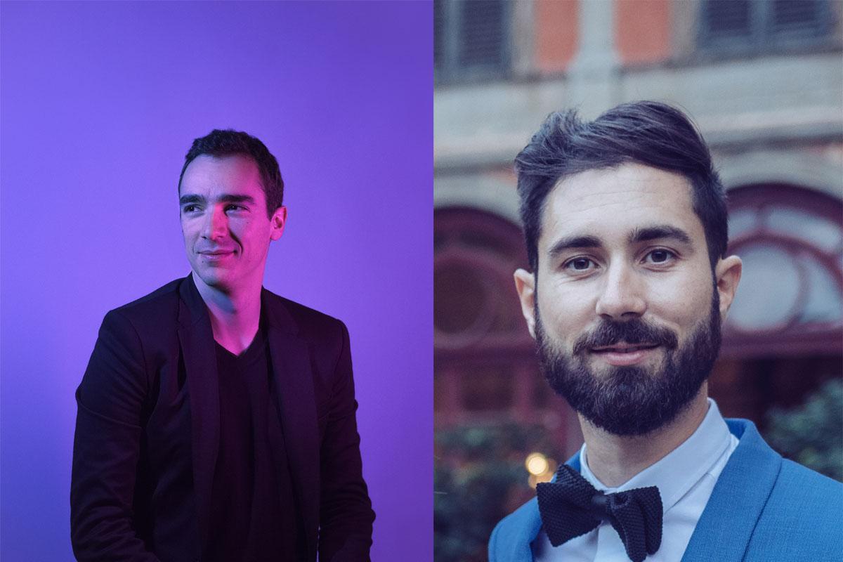 Thibault JORGE et Arnaud DESJARDINS de FEMME FATALE aux «Rendez-vous d'affaires et coproduction France-Canada»