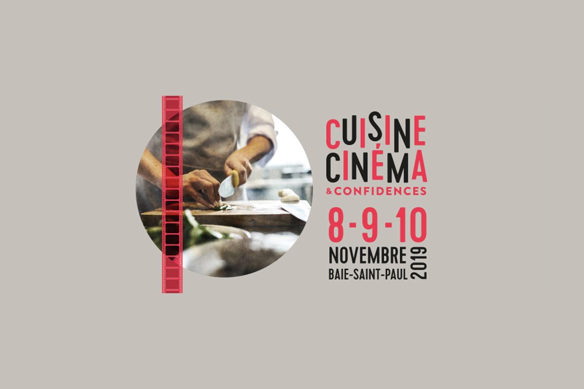 Ce week-end, nouvelles activités à Cuisine Cinéma et confidences !