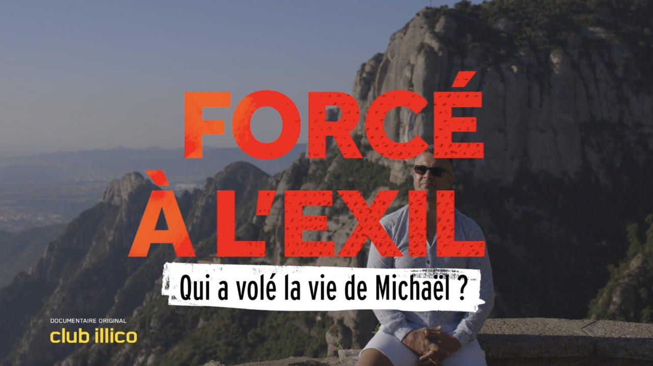 Informateur pour la police à 14 ans maintenant forcé à l'exil : la vie de Michaël Lechasseur sur Club illico