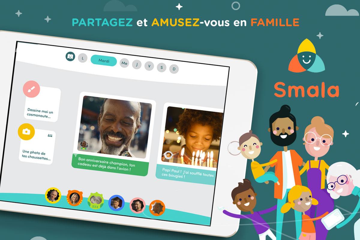 Smala : l'application qui rapproche les familles !