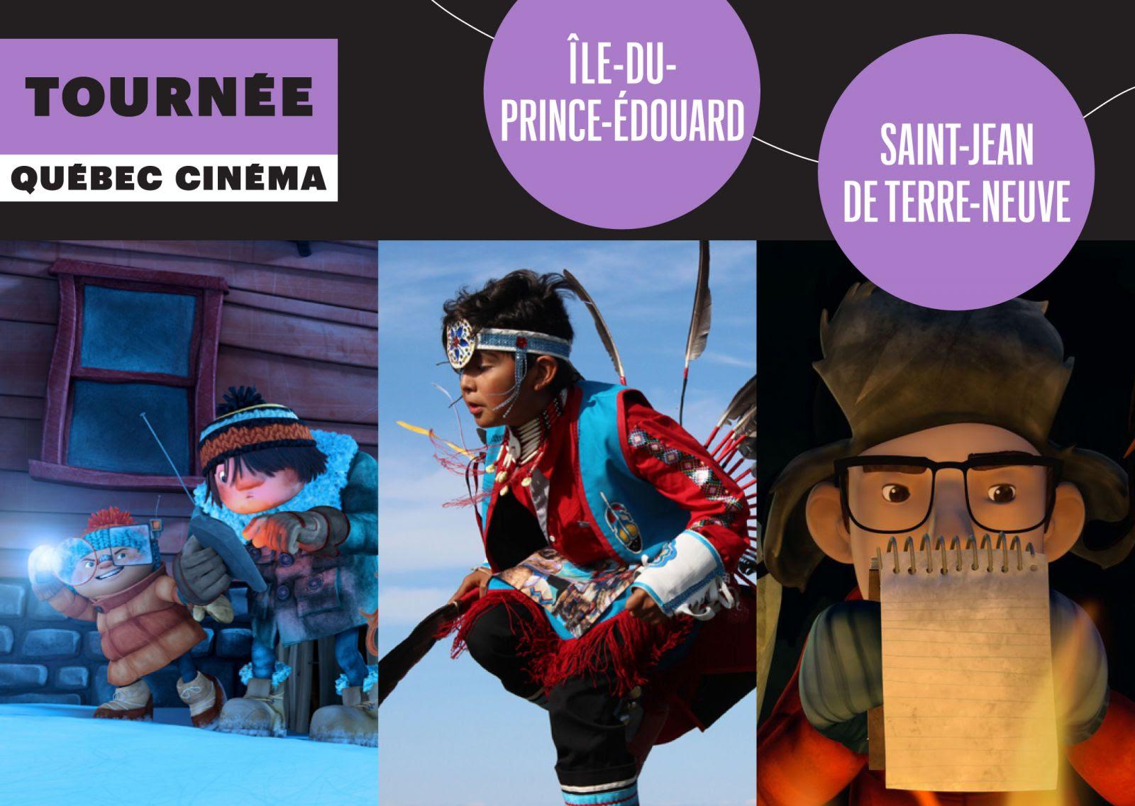La Tournée Québec Cinéma : prochain arrêt, des provinces de l'Atlantique !