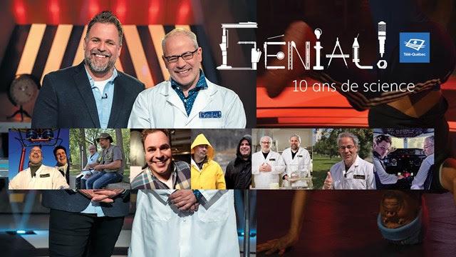 « Génial ! » : 10 ans de science, 400 émissions et 1 500 expériences à Télé-Québec