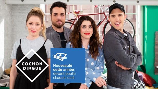 Une année pleine de nouveautés et toujours aussi éclatée avec Cochon dingue à Télé-Québec