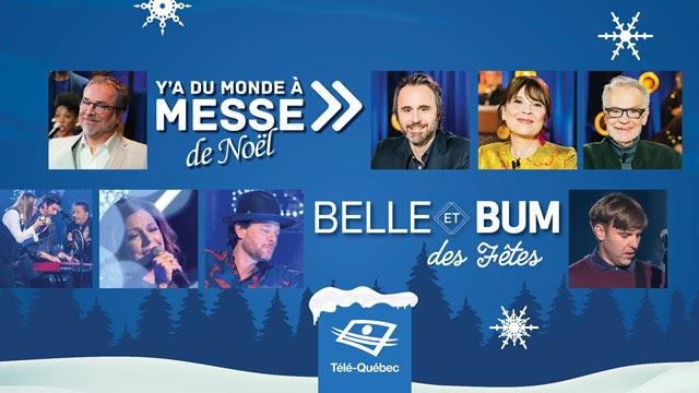 Le 24 décembre 2019, toute une soirée à Télé-Québec!