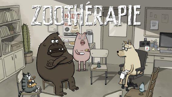 RAPPEL : Voyez l'hilarant « Zoothérapie » sur Oh Oh ONF des fêtes