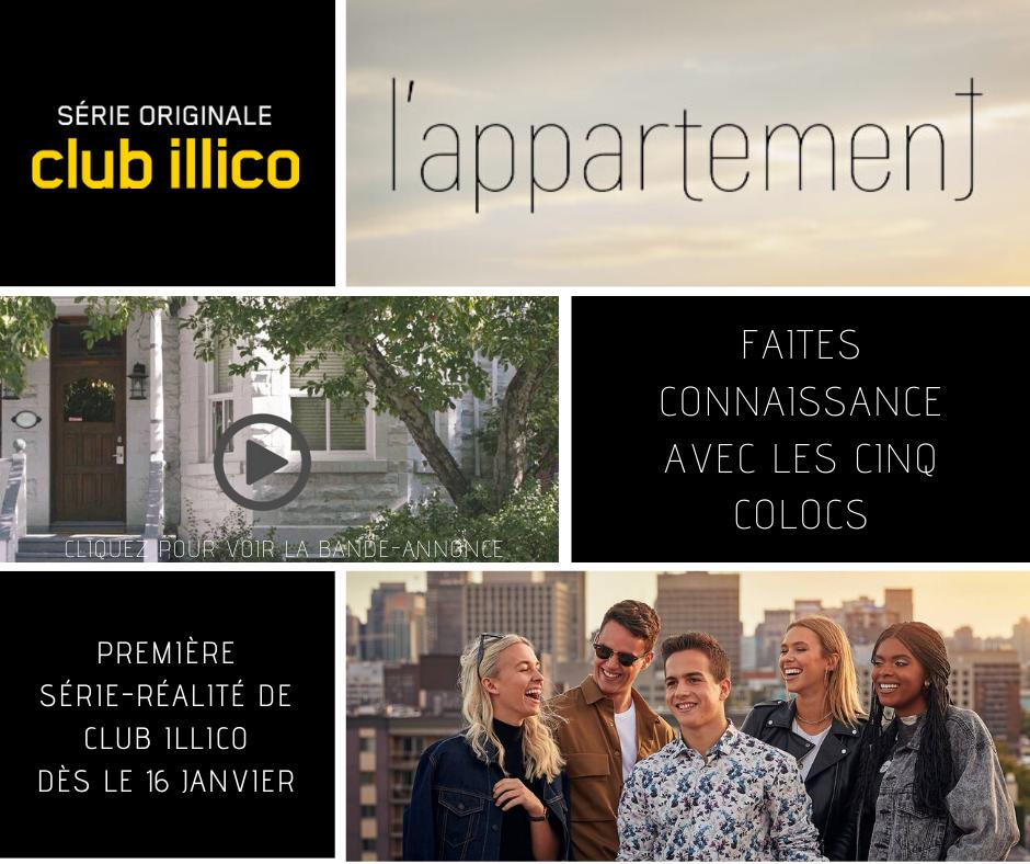 L'appartement : dès le 16 janvier 2020 sur Club illico