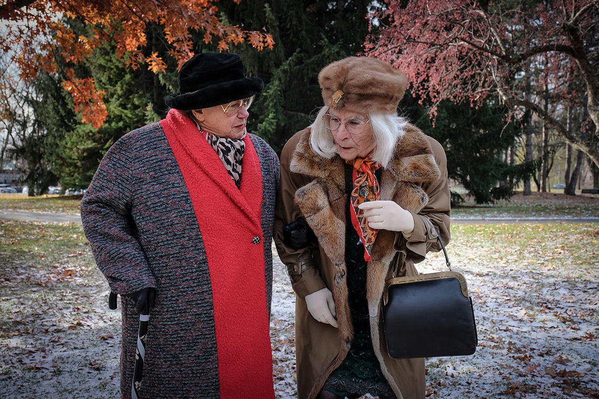 IMELDA est de retour avec Robert Lepage et Ginette Reno!