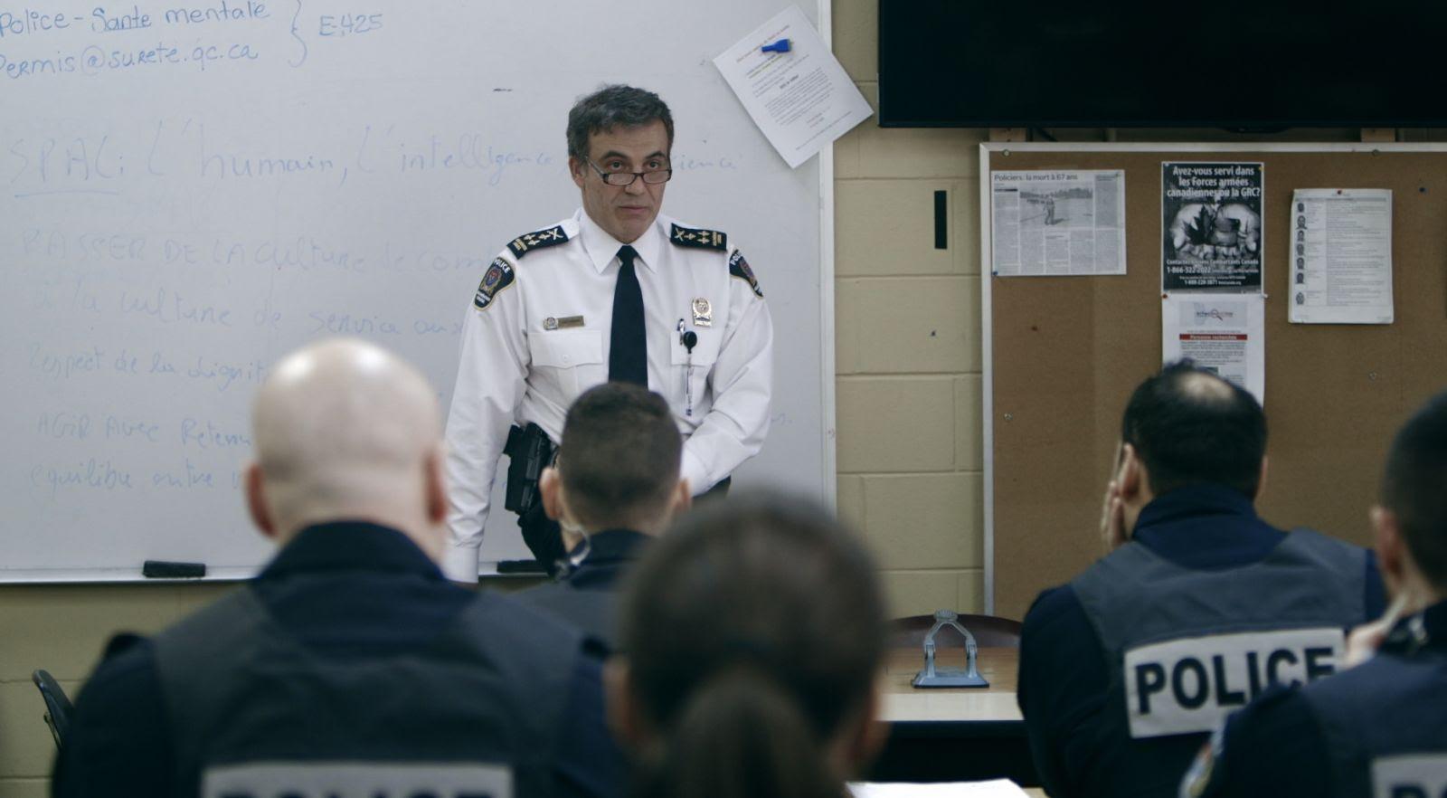 « La police face au mur » de Charles Gervais en première mondiale aux Rendez-vous Québec Cinéma