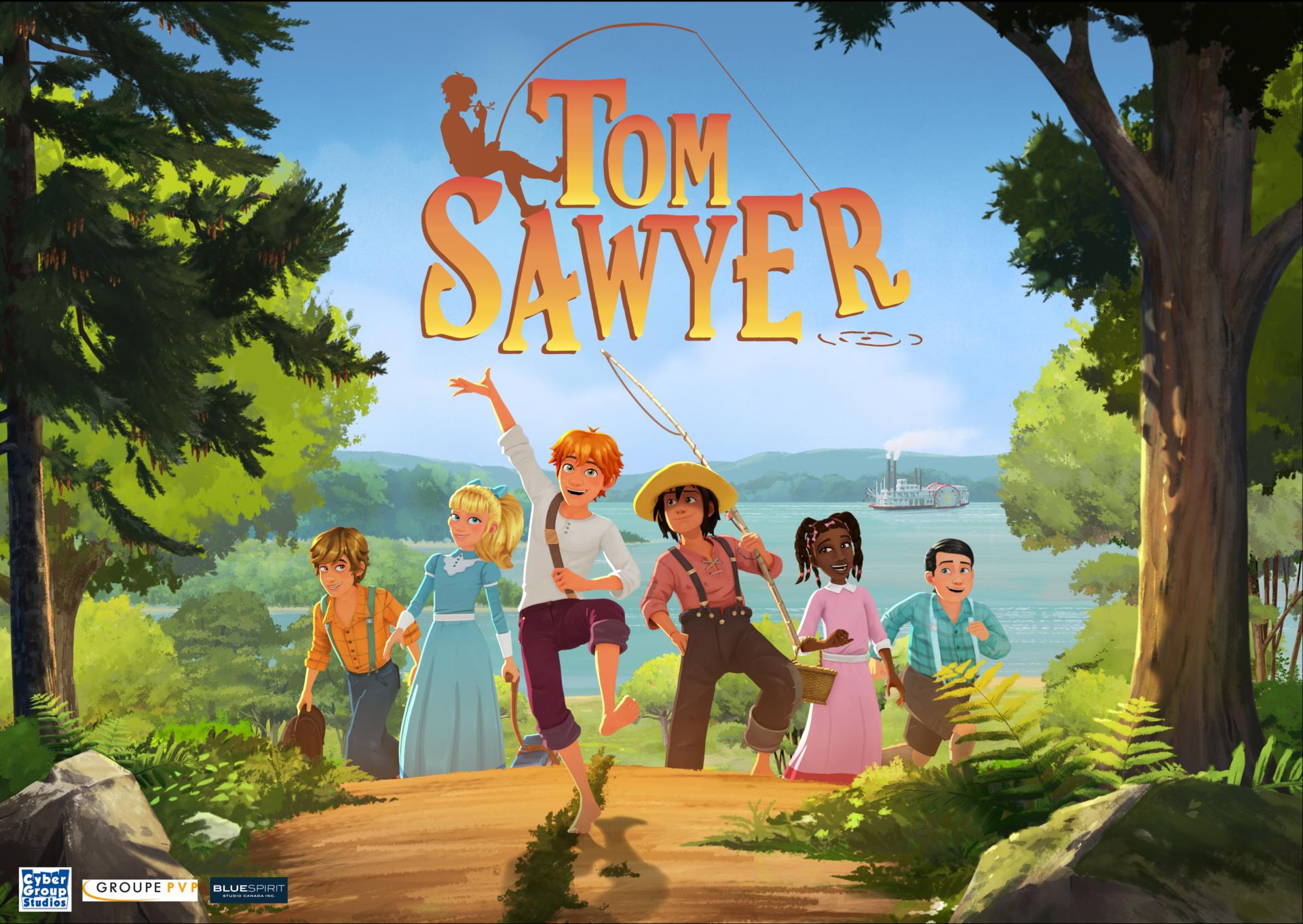 Tom Sawyer, dès le 12 janvier 2020 sur les ondes de Radio-Canada et d'Unis TV