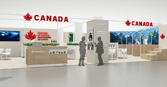Une nouvelle identité pour le Pavillon du Canada
