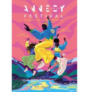 Découvrez l'affiche du Festival d'Annecy !