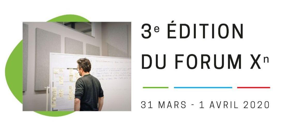 Imaginer l'avenir de la culture numérique dans la francophonie : 3e édition du Forum Xn les 31 mars et 1er avril 2020