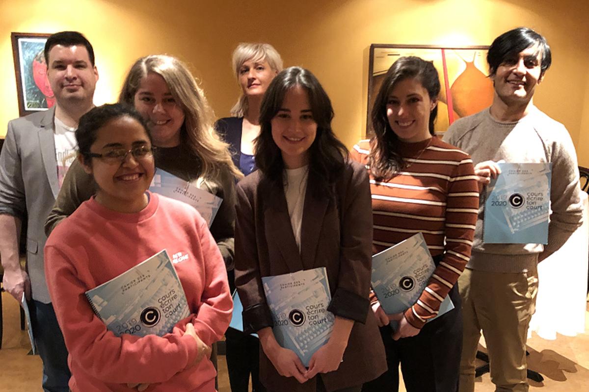 Dévoilement des sept finalistes de Cours écrire ton court