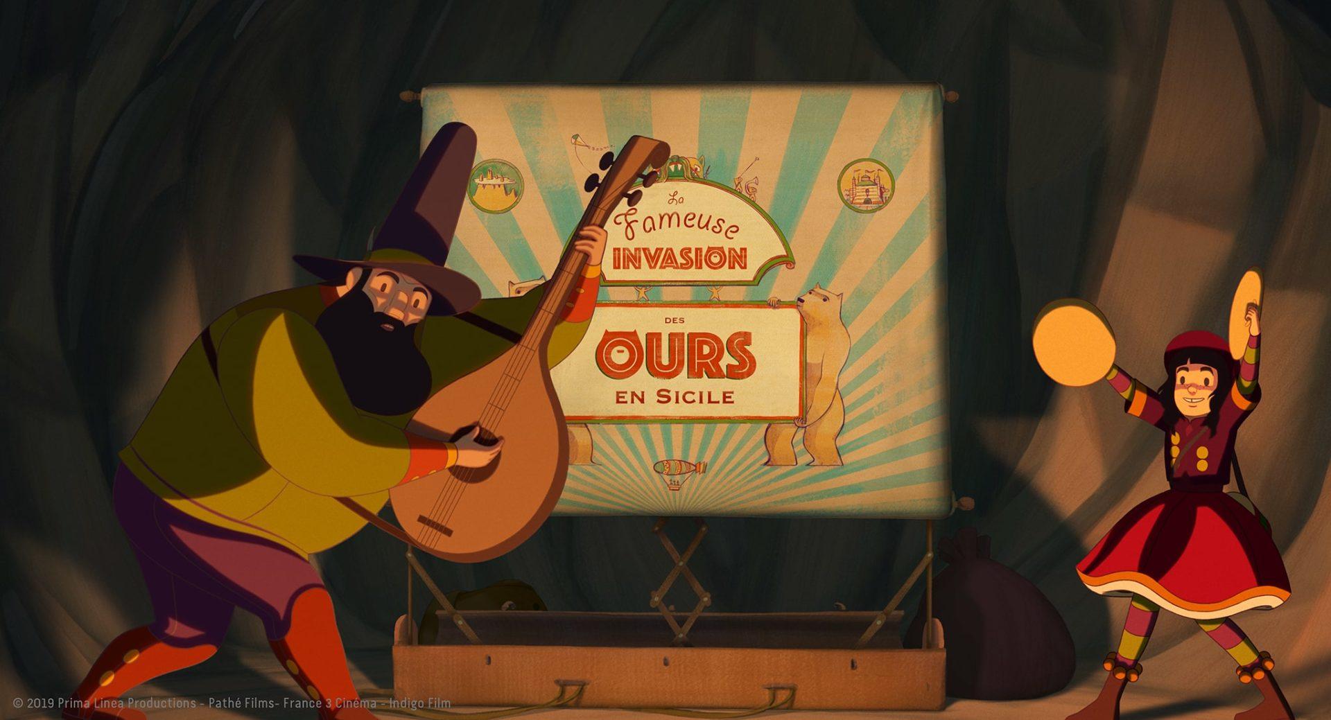 « LA FAMEUSE INVASION DES OURS EN SICILE » de Lorenzo Mattotti à l'affiche au Québec dès le 28 février 2020