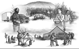 Première mondiale aux RVQC 2020 et simultanément en ligne sur ONF.ca : L'incontournable série documentaire « Ramaillages » de Moïse Marcoux-Chabot