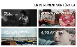 TËNK, la plateforme de cinéma documentaire, disponible au Québec dès le 28 février 2020