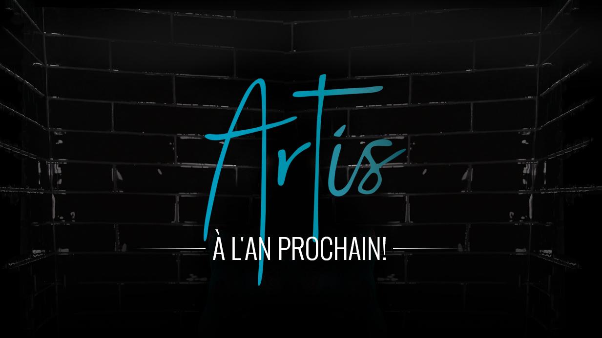 TVA | ANNULATION de la soirée ARTIS 2020