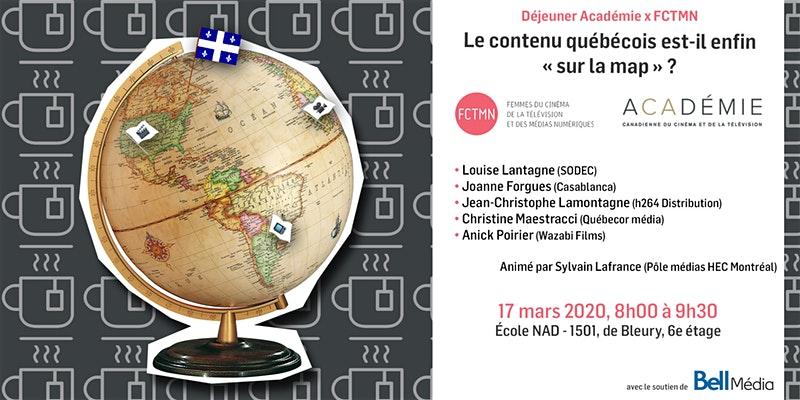 Le contenu québécois est-il enfin « sur la map » ? La « Marque Québec » existe-t-elle ?