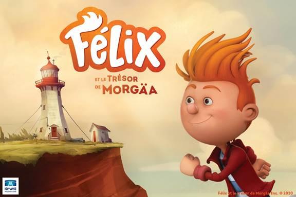 Après le Québec, «Félix et le trésor Morgäa » au cinéma au Royaume Uni, en France, en Espagne et aux États-Unis