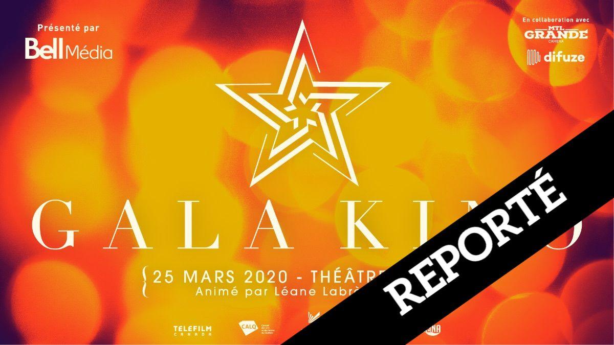 Gala Kino 2020 reporté