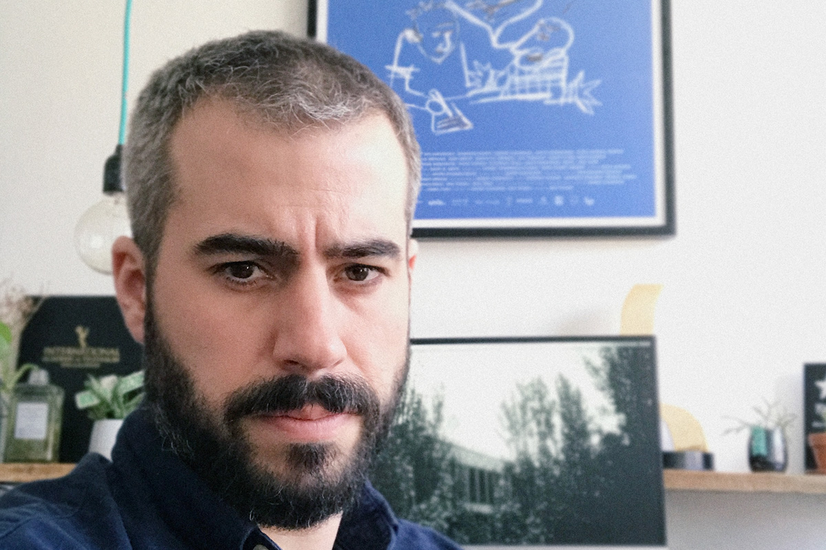 Une entrevue de Marc Lamothe avec Éric Piccoli en mode confinement