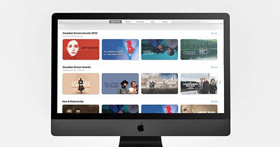 NOUS | MADE ouvre sur l'application d'Apple TV pour mettre en vedette le contenu canadien à temps pour la Journée du cinéma canadien