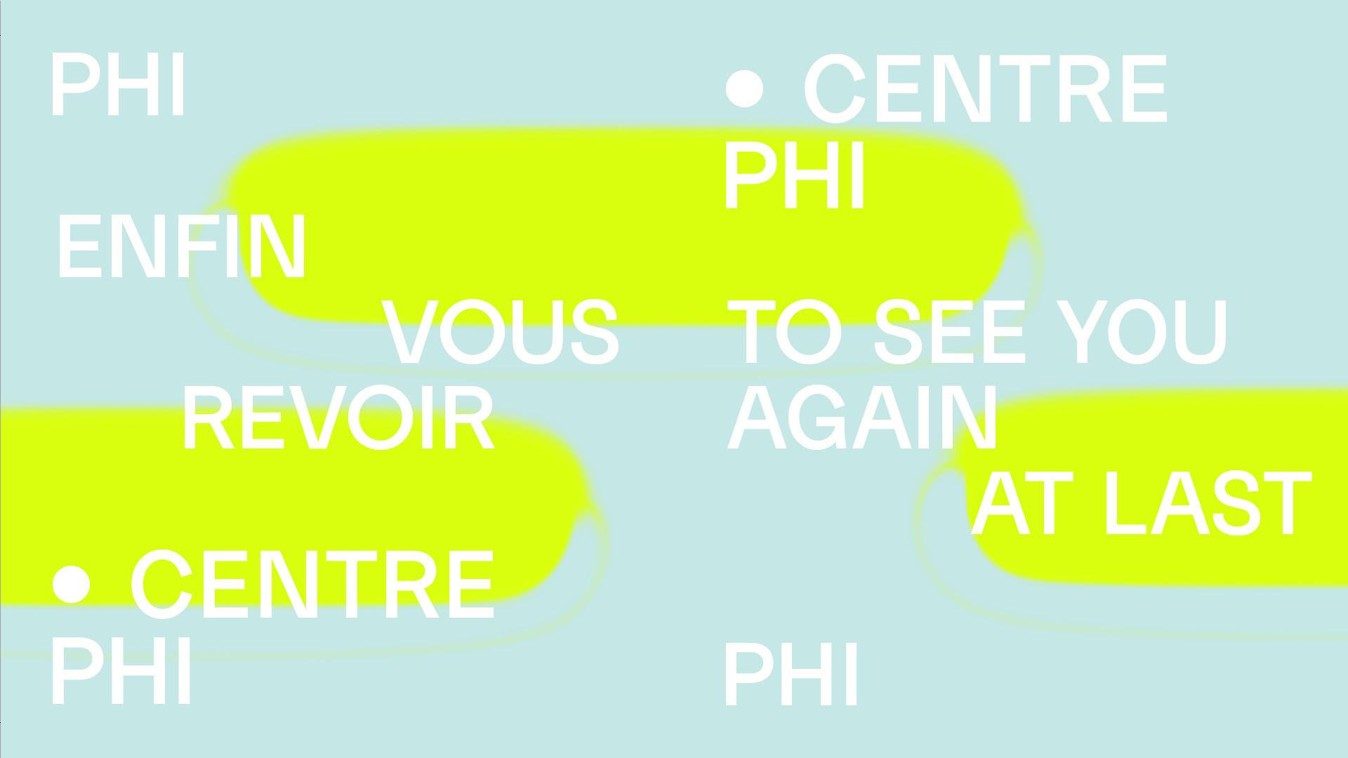 Le Centre PHI et la Fondation PHI offrent deux expositions estivales