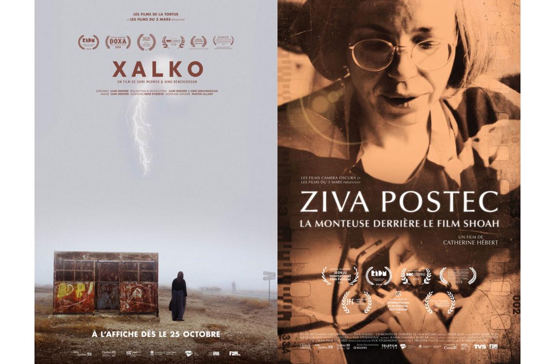 « XALKO » et « ZIVA POSTEC », deux documentaires en nomination aux Prix Iris 2020 et disponibles en VSD dès ajourd'hui!