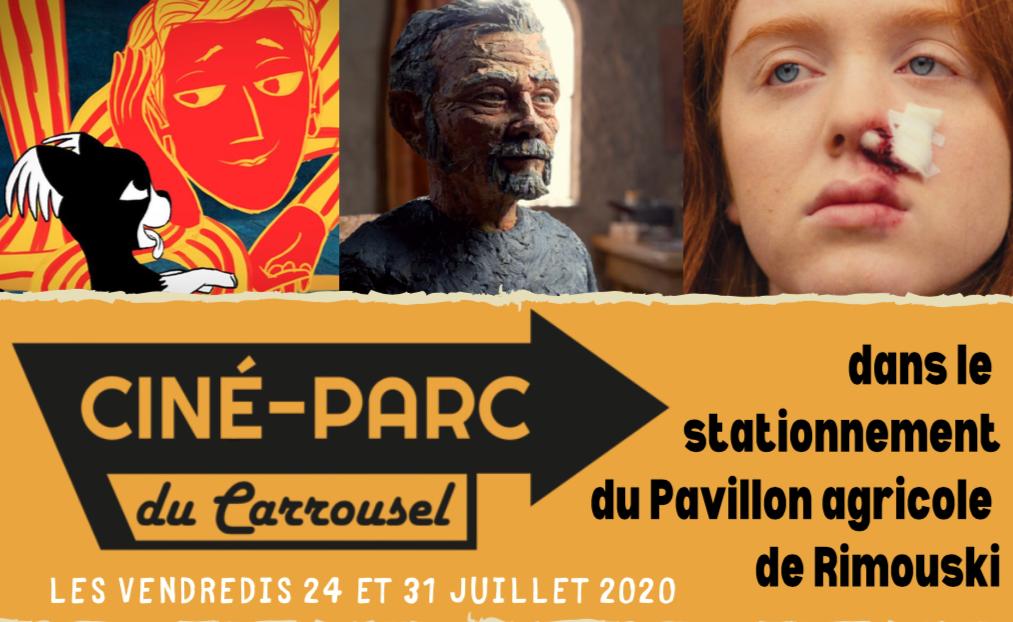 Programmation estivale des Ciné-parcs du Carrousel