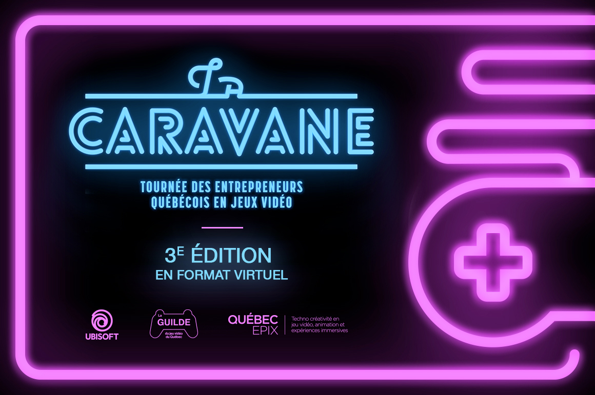 La Caravane virtuelle, un événement pour soutenir l'industrie du jeu vidéo du Québec