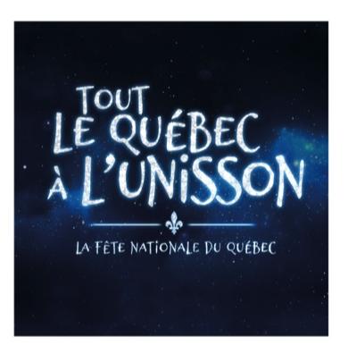 Fête nationale 2020 | Plus d'une quarantaine d'artistes pour célébrer notre fierté nationale « Tout le Québec à l'unisson » !
