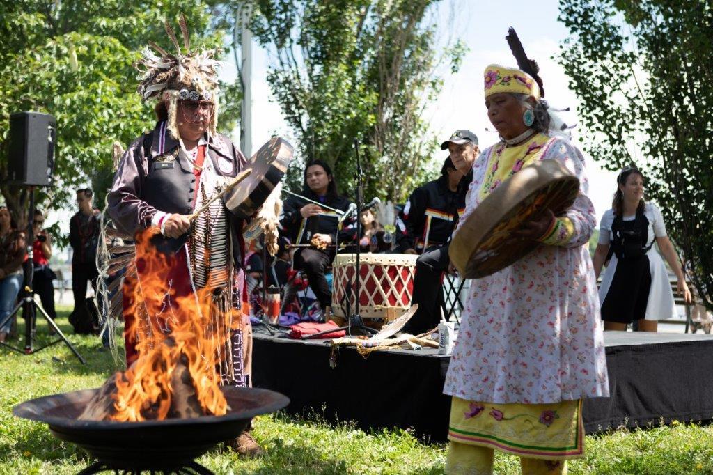 Célébration du Jour national des peuples autochtones à Montréal