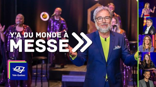 Télé-Québec | Ce vendredi, 12 juin 2020, à Y'a du monde à messe