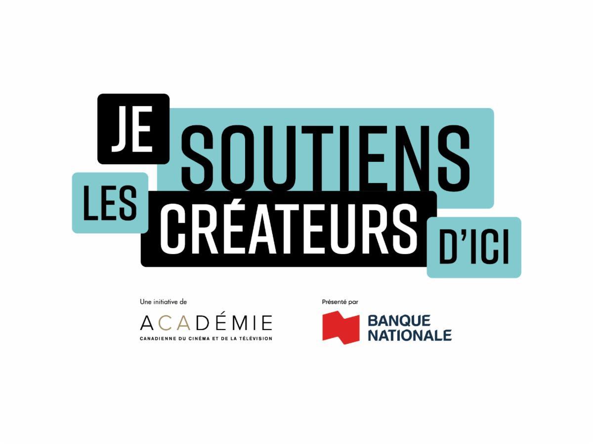 Prix Gémeaux et Banque Nationale : lancement de la campagne «Je soutiens les créateurs d'ici»