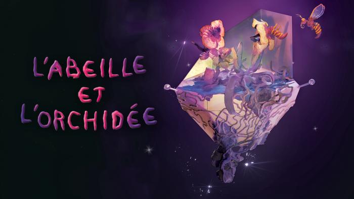 L'œuvre en réalité virtuelle « L'abeille et l'orchidée » (ONF) sélectionnée au Festival international du film d'animation d'Annecy