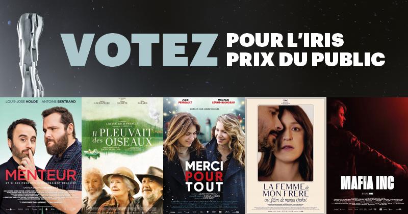 Gala Québec Cinéma : Le public a encore une semaine pour voter pour son film préféré