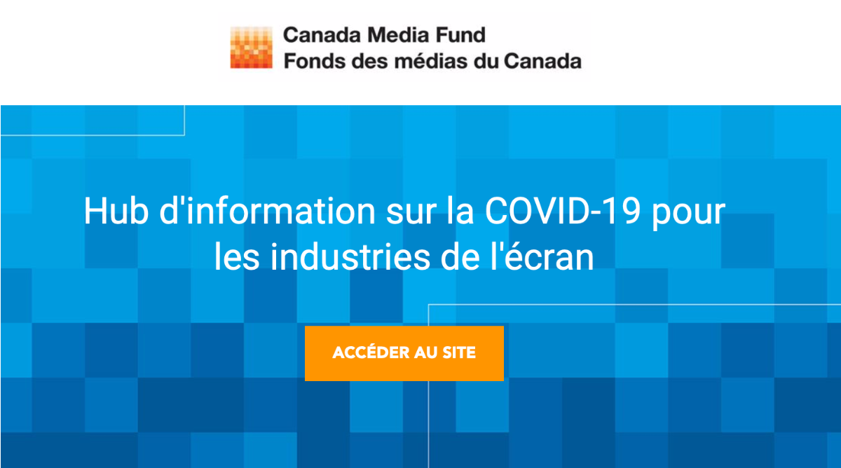 COVID-19 - Les nouvelles du Fonds des médias du Canada du vendredi 3 juillet 2020