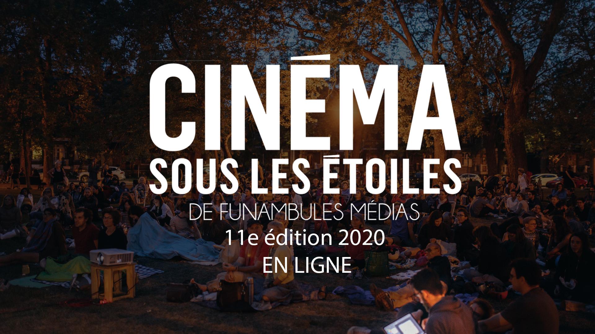 Cinéma sous les étoiles : une 11e édition en format pour emporter!