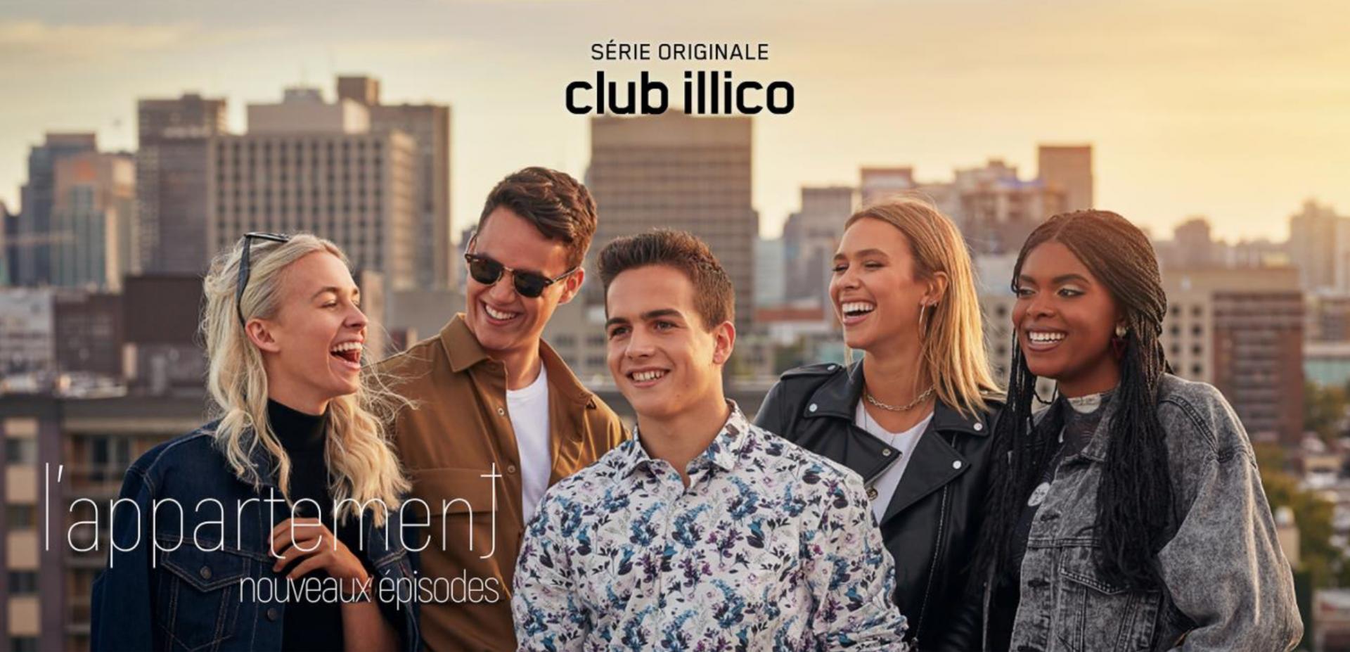 Club illico | L'appartement : neuf nouveaux épisodes à voir dès jeudi le 30 août 2020