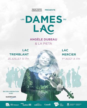 Les Dame du Lac, un concert sur l'eau unique et inoubliable !