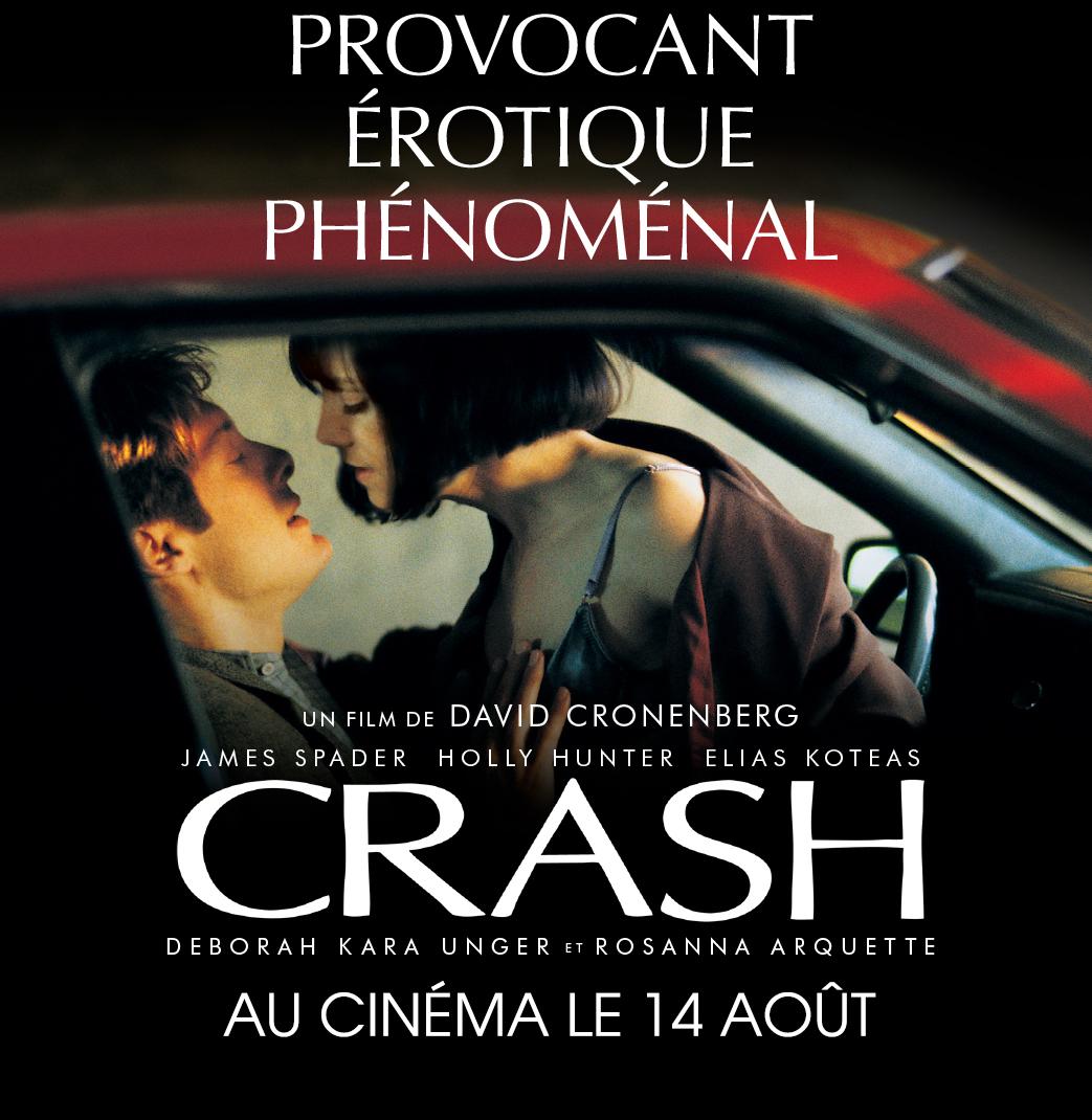 Nouvelle restauration du film « CRASH » en 4K de David Cronenberg, en salles dès le 14 août 2020