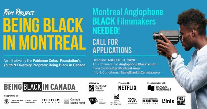 Appel à participations : Cinéastes noir.es anglos recherchés....