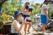 La ruelle côté jardin, des étudiant.es de l'UQAM en action pendant la pandémie !