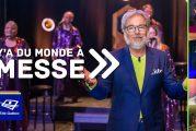 Télé-Québec   Ce vendredi 16 octobre 2020 à Y'a du monde à messe