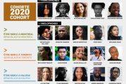 Les 20 participants 2020 du Programme Être Noir.e au Canada de la FFC...