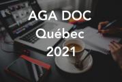 Retour sur l'assemblée générale annuelle 2021 de DOC Québec