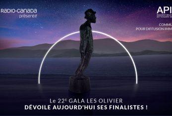 Dévoilement des nominations 2021 du Gala Les Olivier