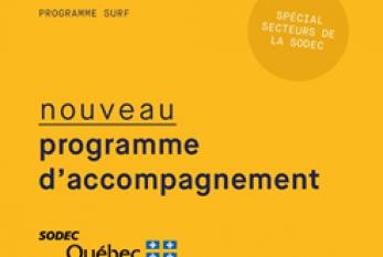 La SODEC s'associe à l'accélérateurLa Piscinepour le lancement d'une édition spéciale deSURF