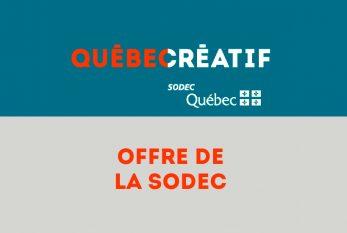 Offre de la SODEC - Sunny Side of the Doc 2021